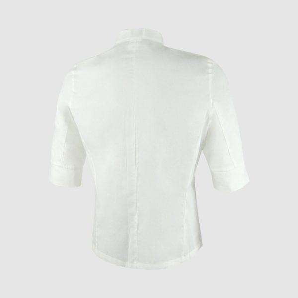 Camisa unisex blanca manga francesa