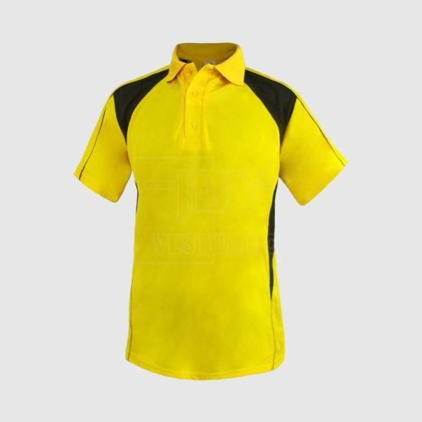 Polo amarillo y negro