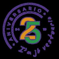 Logo 25 aniversario JB Vestuario