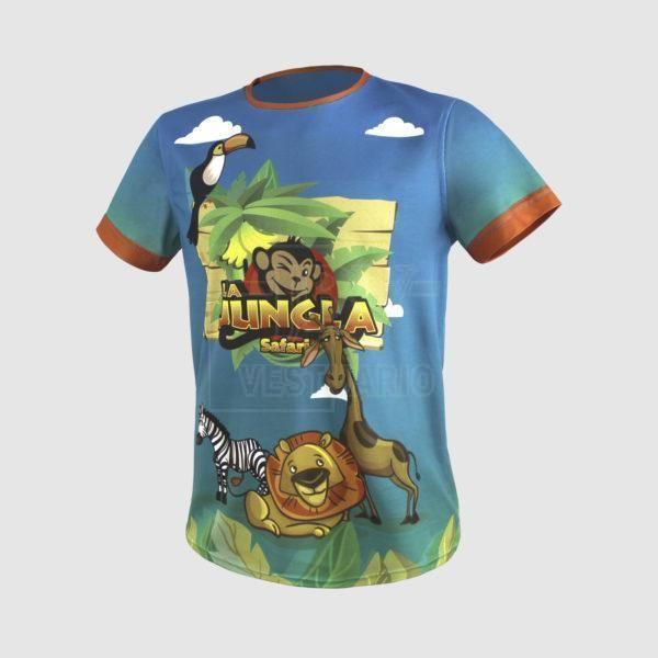 Sublimacion camiseta animales