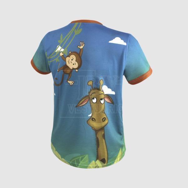 Camiseta sublimada zoo