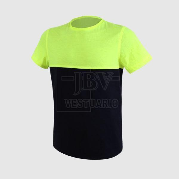 Camiseta amarillo fluor